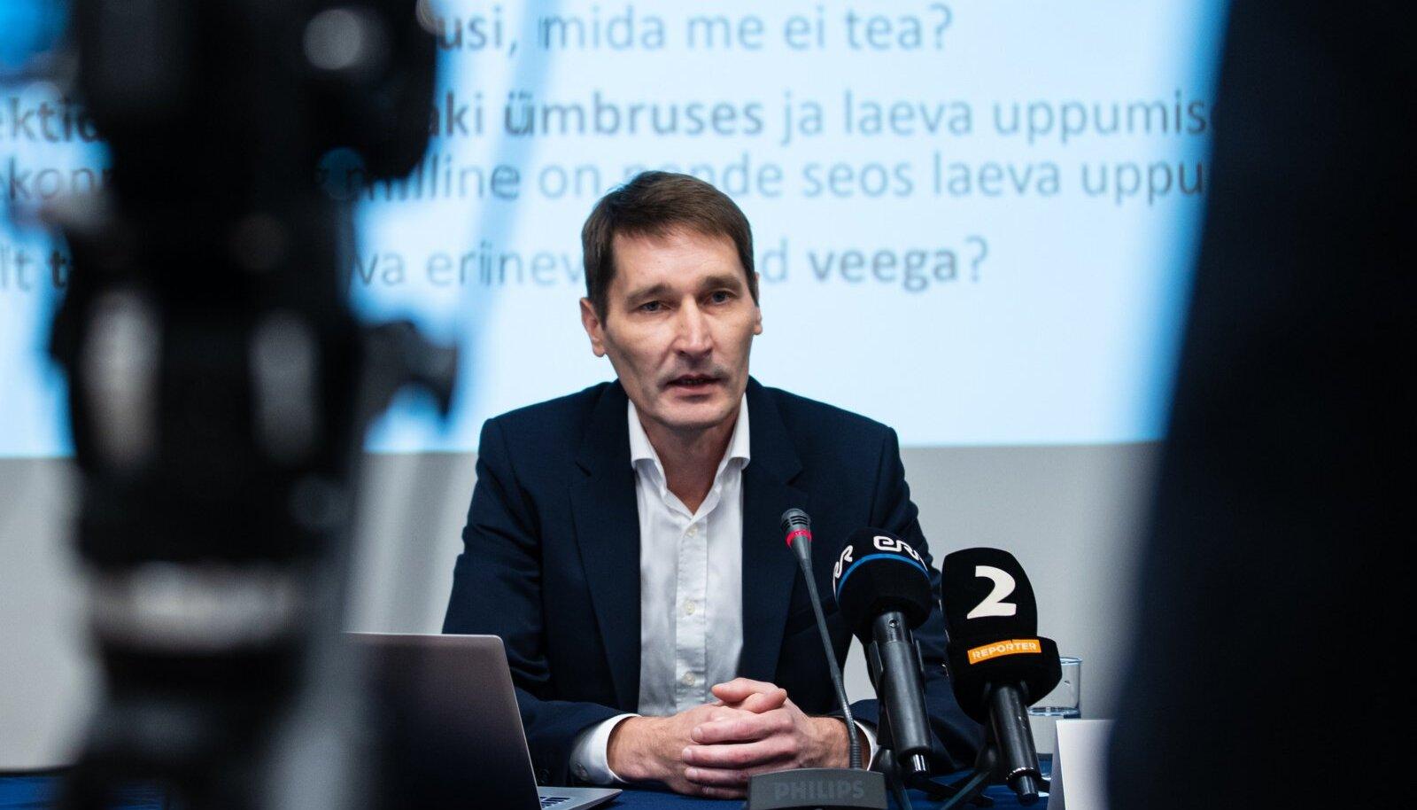 ML Estonia eraalgatusliku uurimisgrupi pressikonverents 08.09.2021