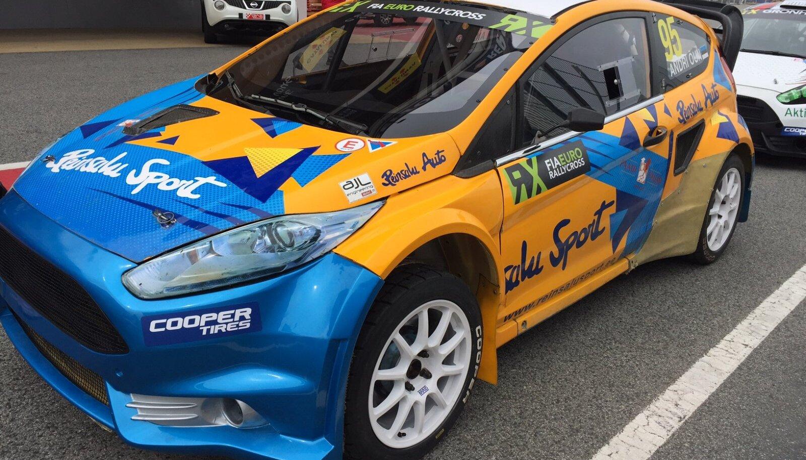 Andri Õun FIA Euroopa meistrivõistlustel rallikrossis