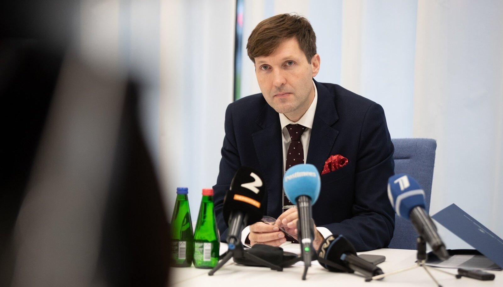 Martin Helme pressikonverents