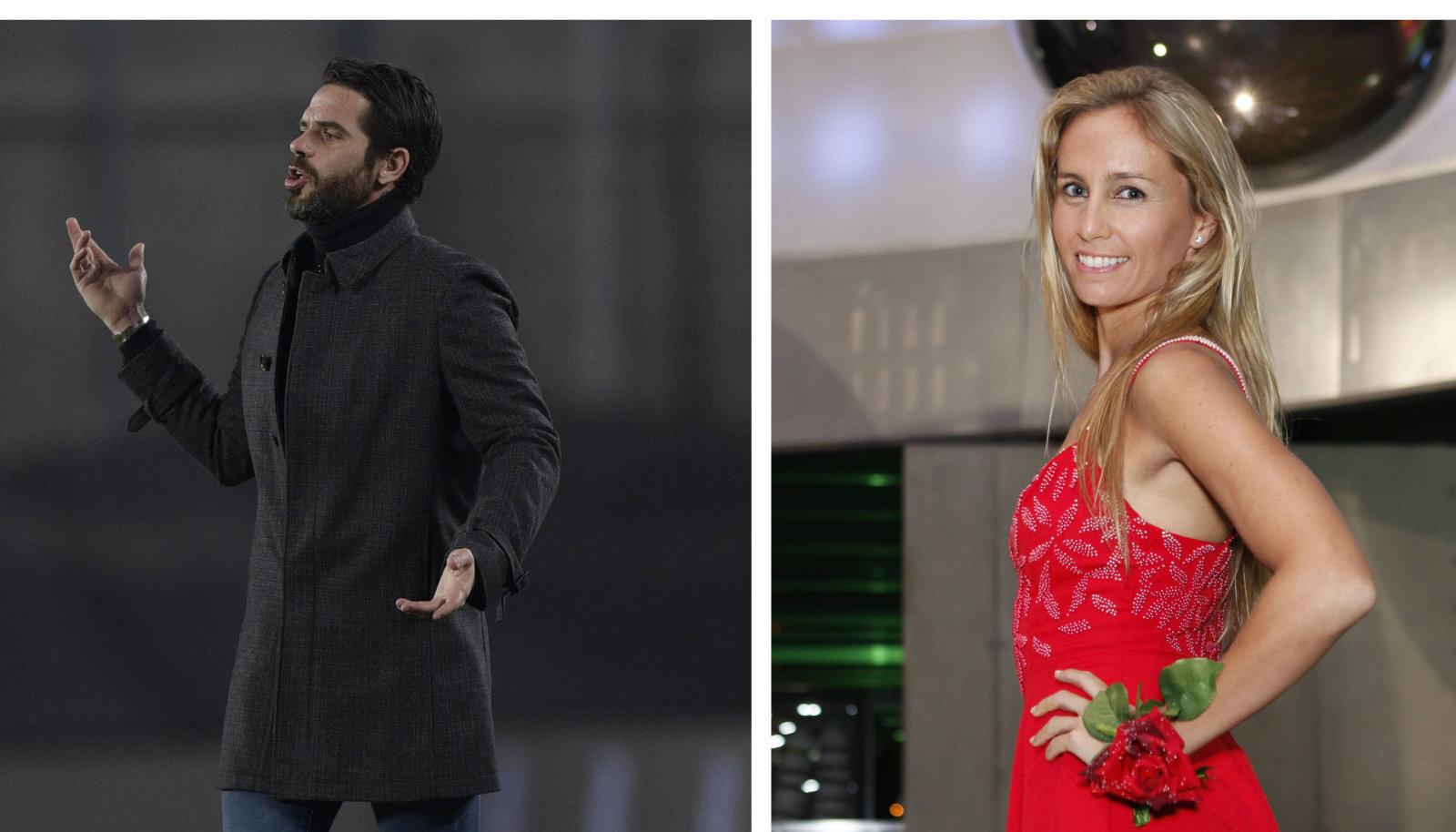 Fernando Gago ja Gisela Dulko