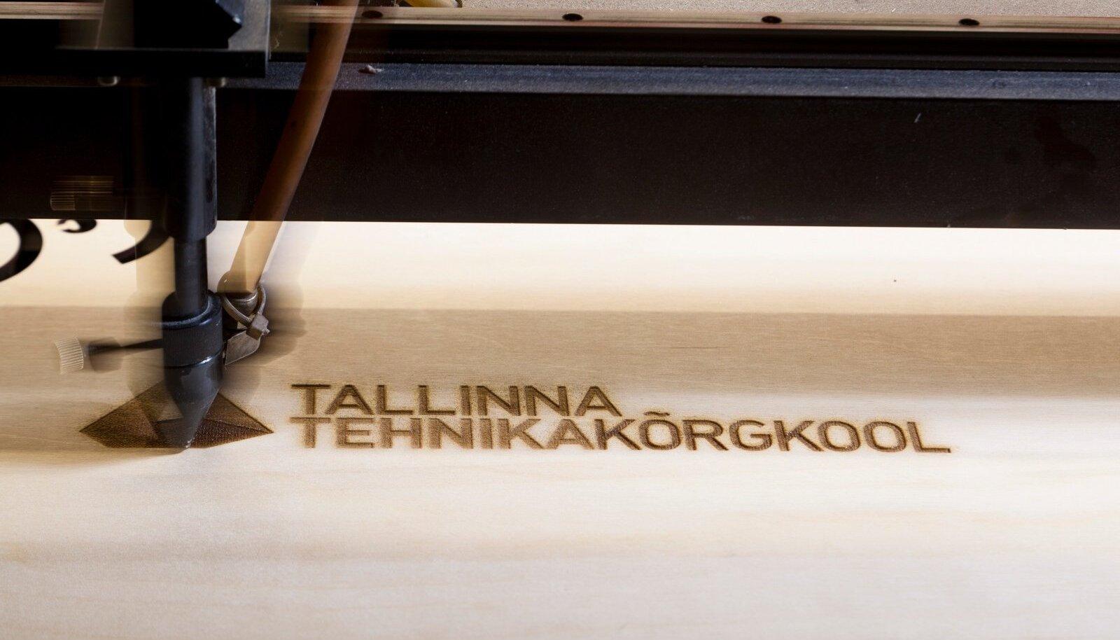 Laserpõleti mehaanikalaboris. Tallinna Tehnikakõrgkool