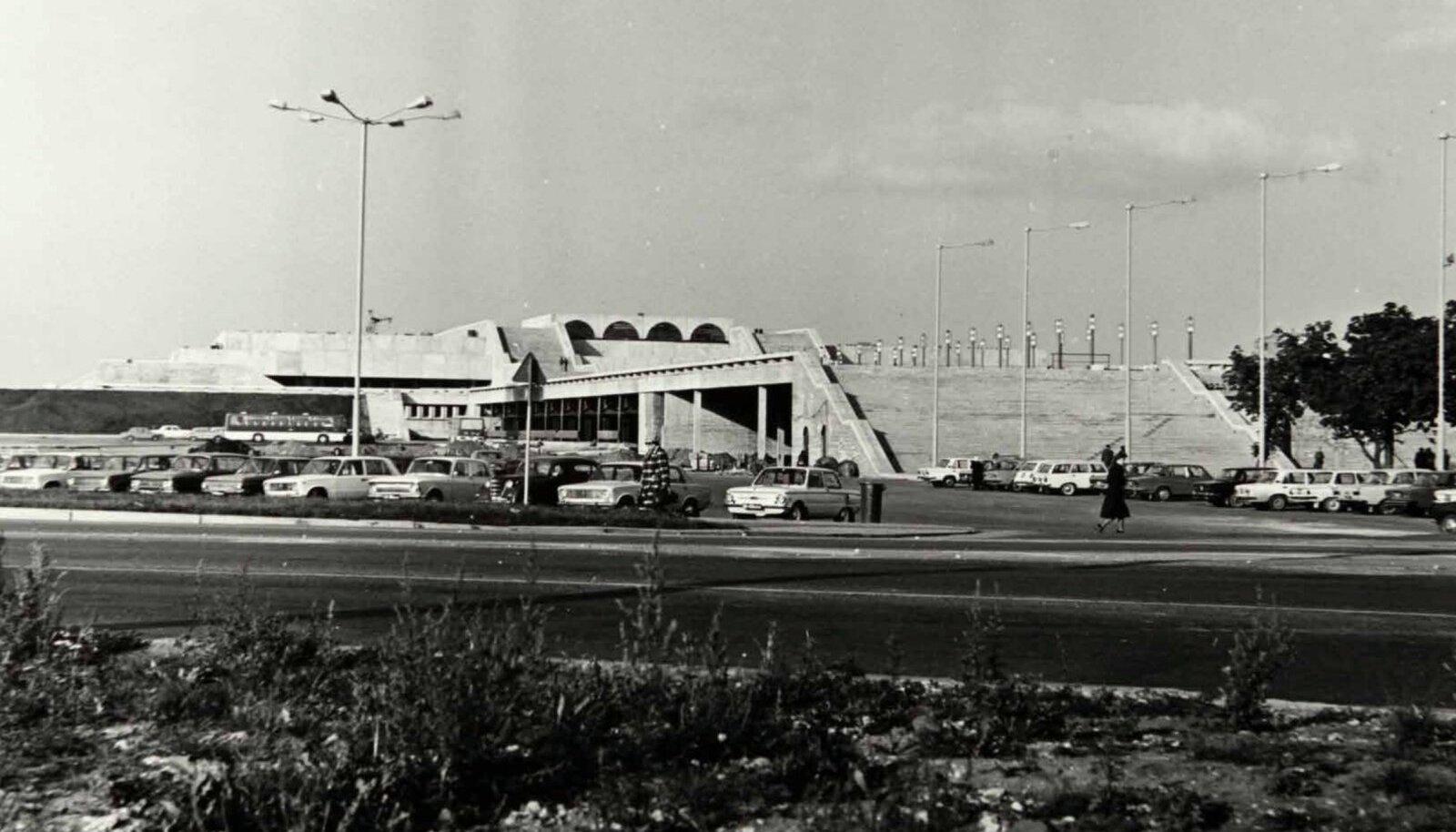 VALMIS: Linnahall pärast valmimist 1980. aastal.