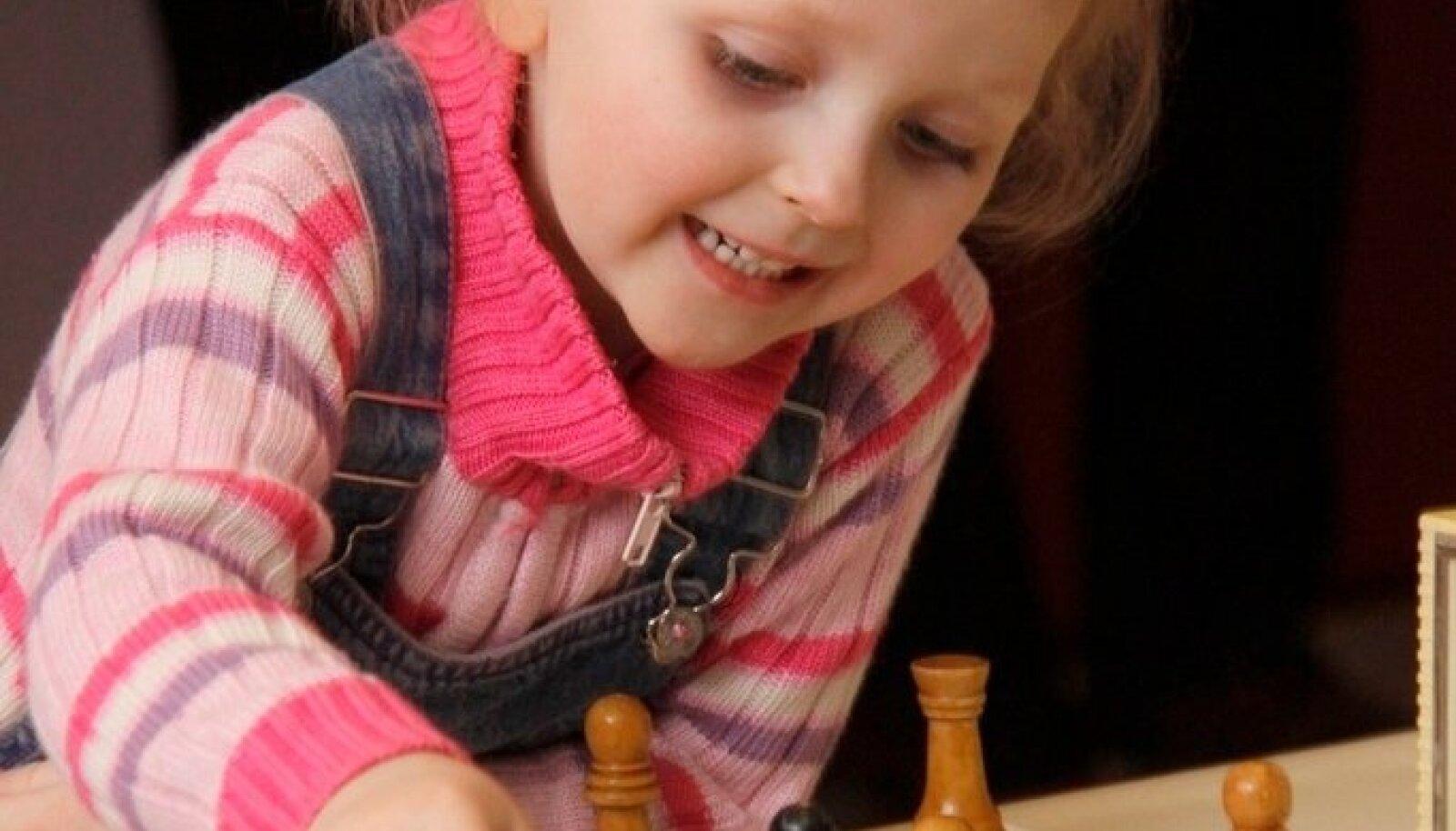 Турнир по быстрым шахматам собрал в Кохтла-Ярве детей из Эстонии и России