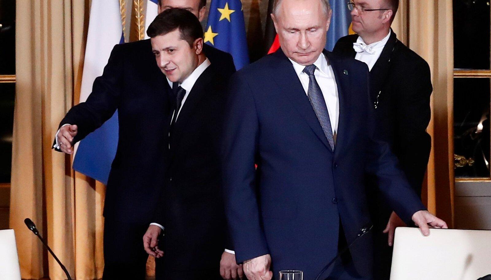 Zelenskõi ja Putin