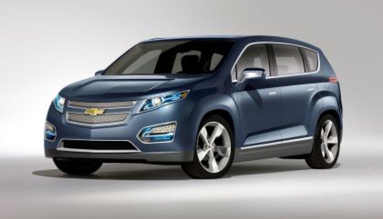 Chevrolet Volt MPV5 on olemas. Võiks ka müüki saabuda