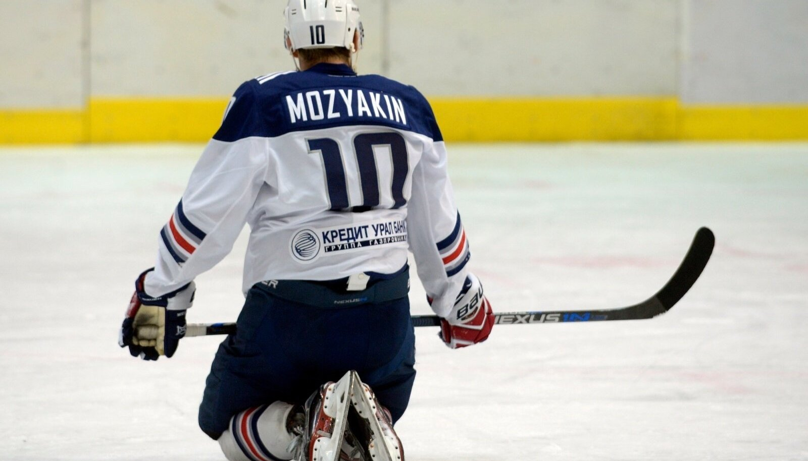 KHL GAME BETWEEN DINAMO RIGA AND METALLURG MAGNITOGORSK