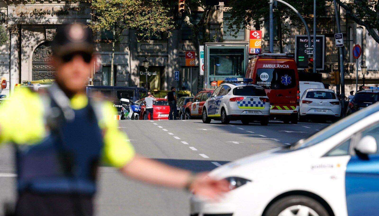 Terror Barcelonas