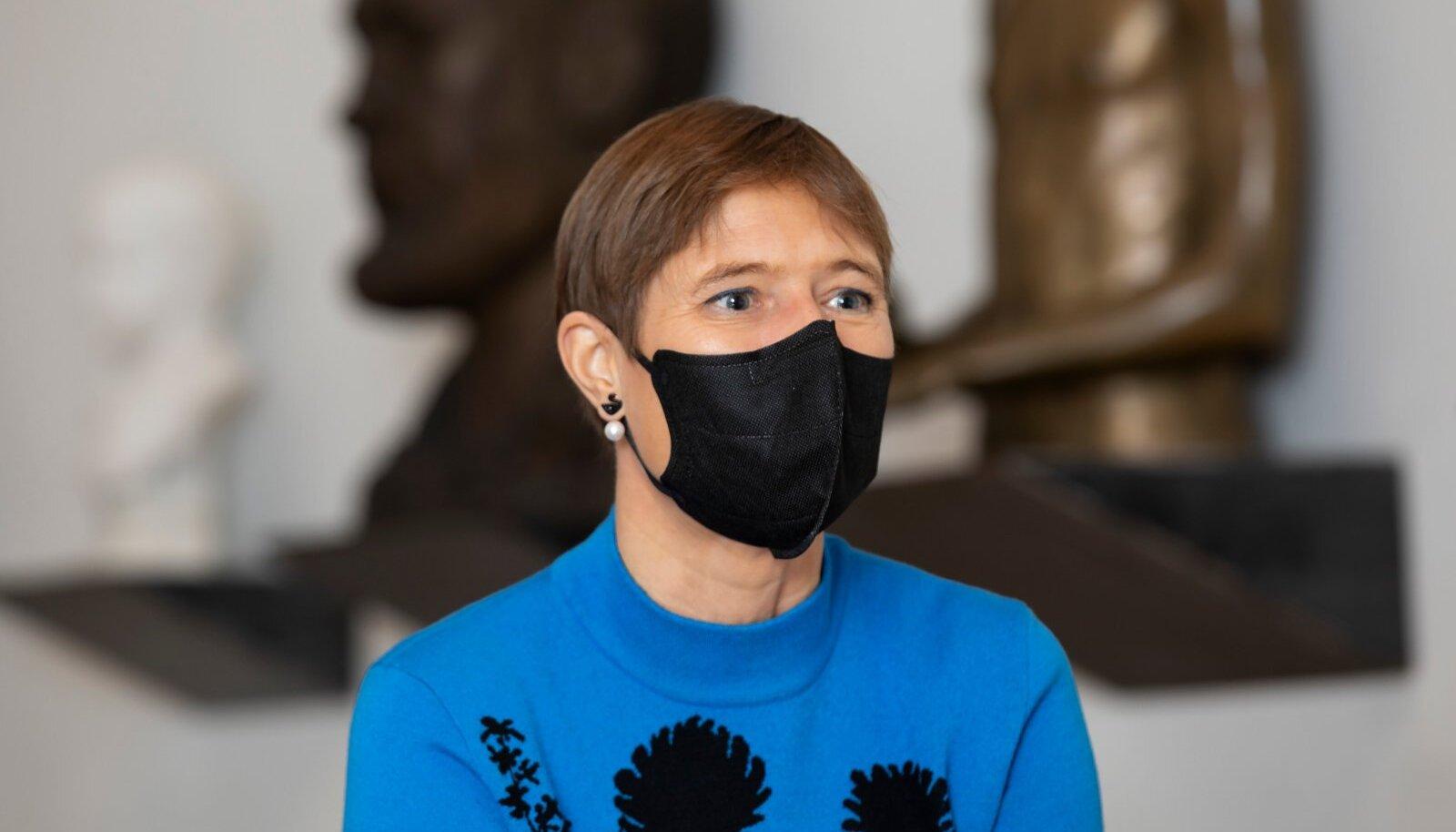 Eesti Vabariigi president Kersti Kaljulaid, intervjuu, KUMU