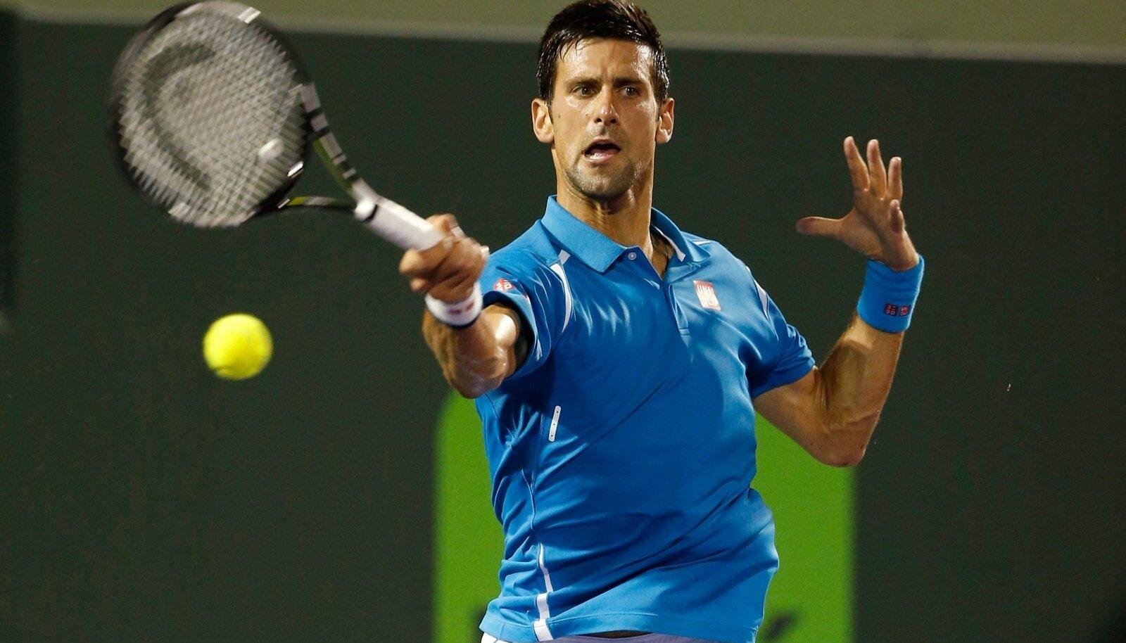 Tennis: Miami Open-Djokovic v Edmund