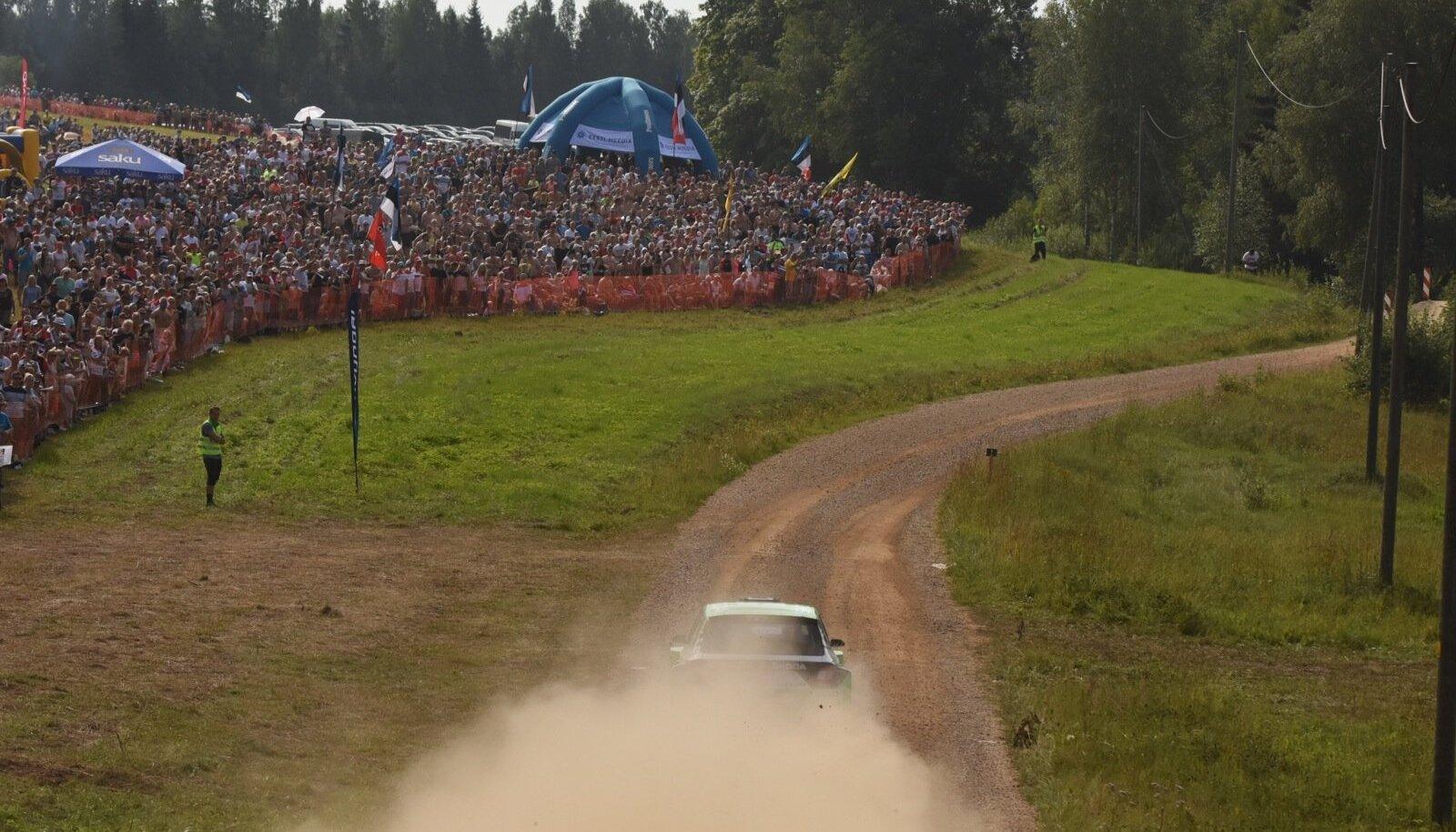 Rally Estonia korraldajad soovivad kogu publiku koondada vaid spetsiaalsetesse vaatamiskohtadesse.