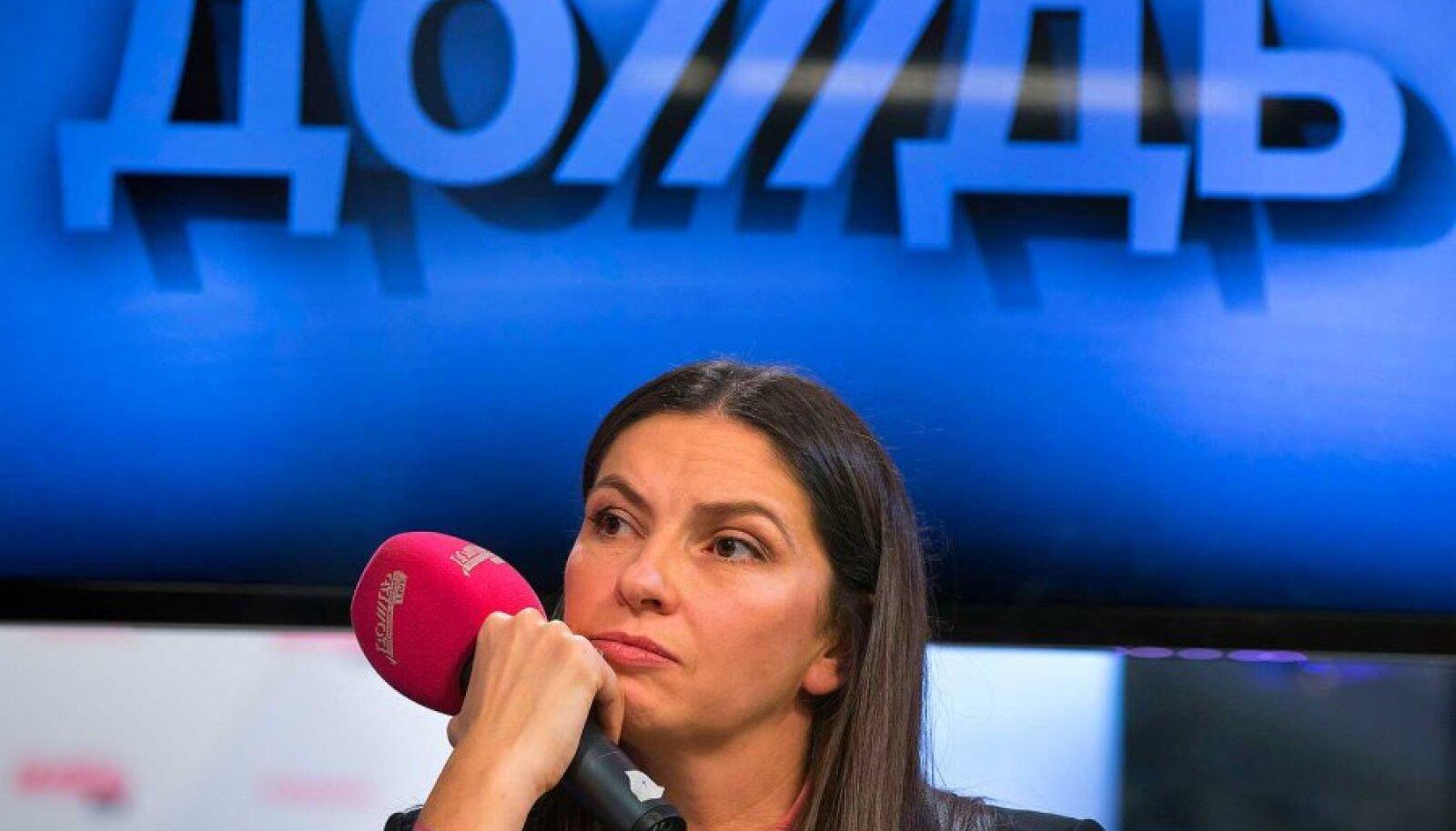Murelik: Doždi asutaja ja praegune peadirektor Natalja Sindejeva loodab, et telekanal saab siiski tegevust jätkata..