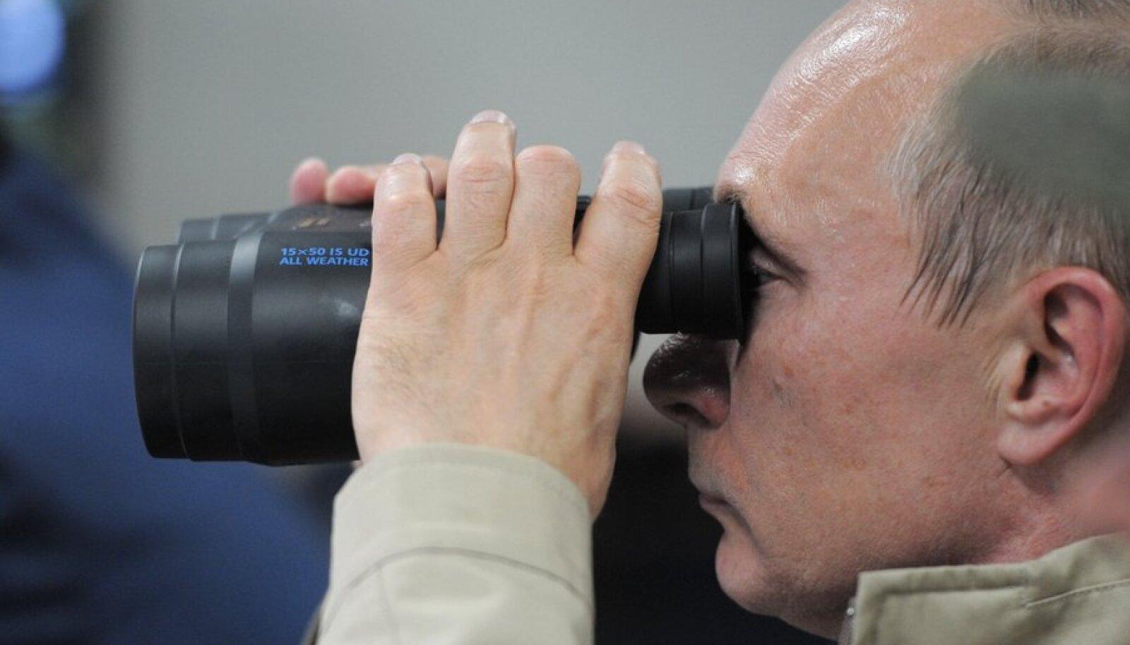 Vene president Putin ja õppus Kavkaz-2012