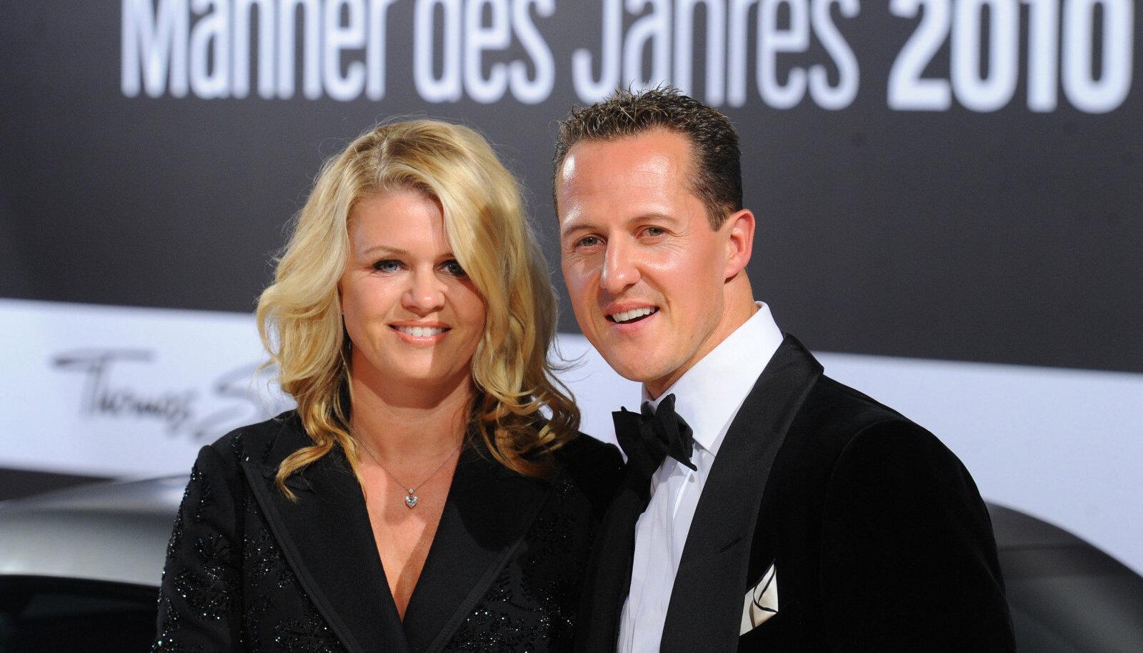 Corinna ja Michael Schumacher 2010. aastal.