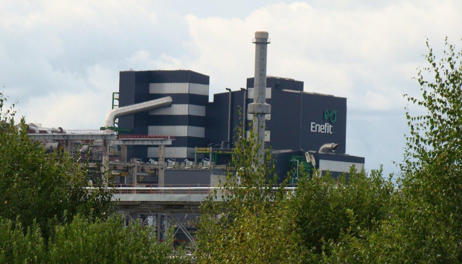Eesti Energia Enefit 280 õlitehas, Auvere