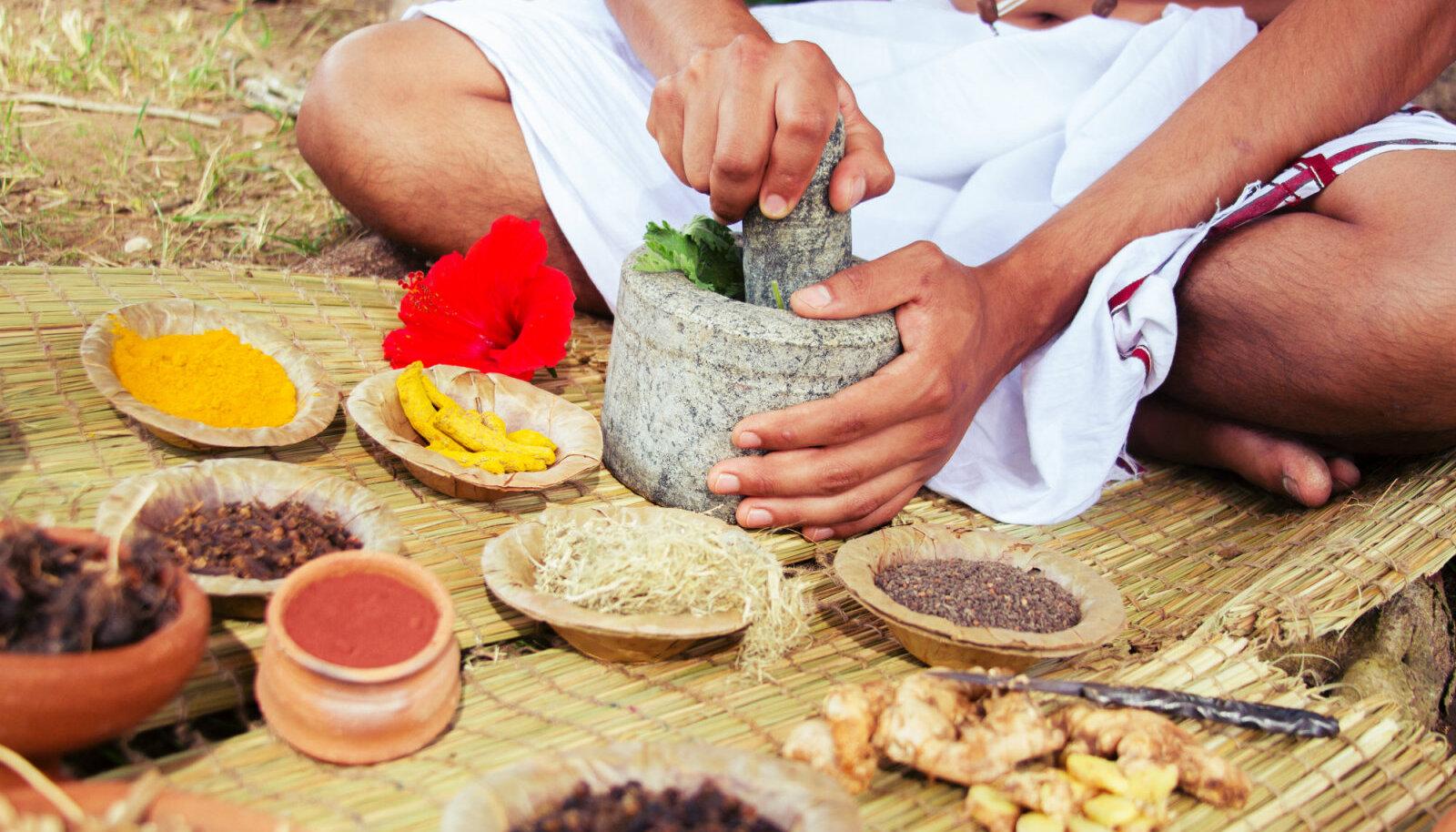 Ajurveeda iidne teadus õpetab oma tervise eest hoolitsema