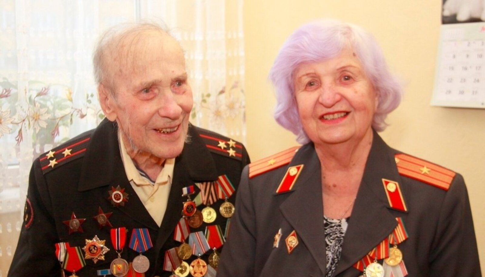 Александр Разгуляев во время празднования 103-летия