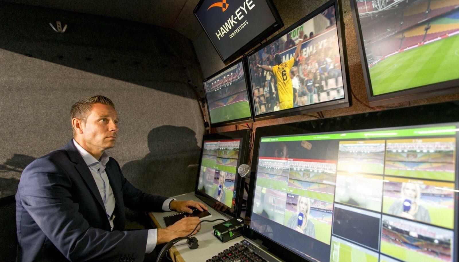 Videokohtunik Ajaxi ja Willem II mängul