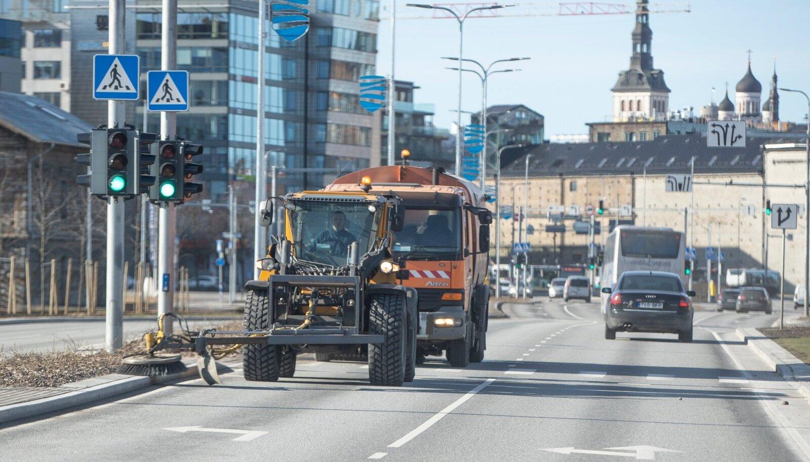 Tolmuse Tallinna puhastamine 15.03.2020
