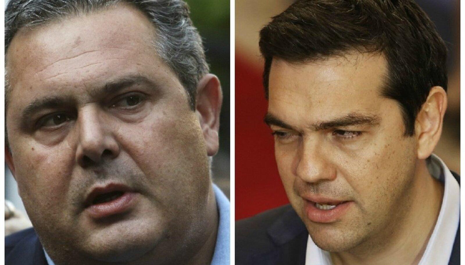 Kammenos ja Tsipras