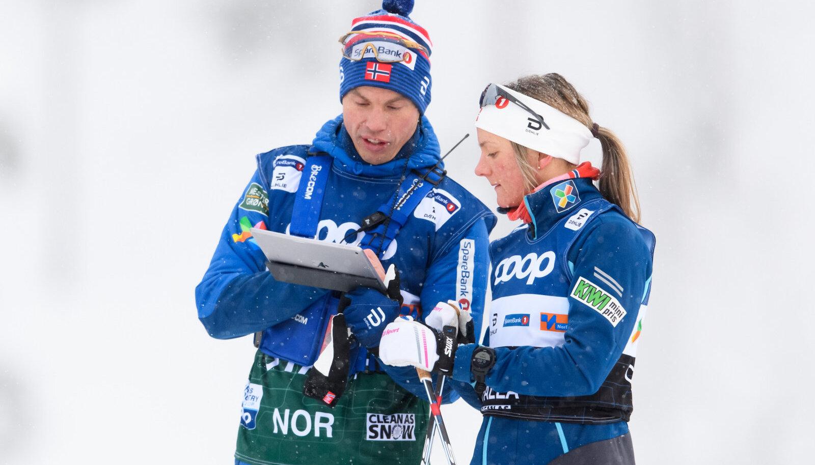 Geir Endre Rogn ja Maiken Caspersen Falla