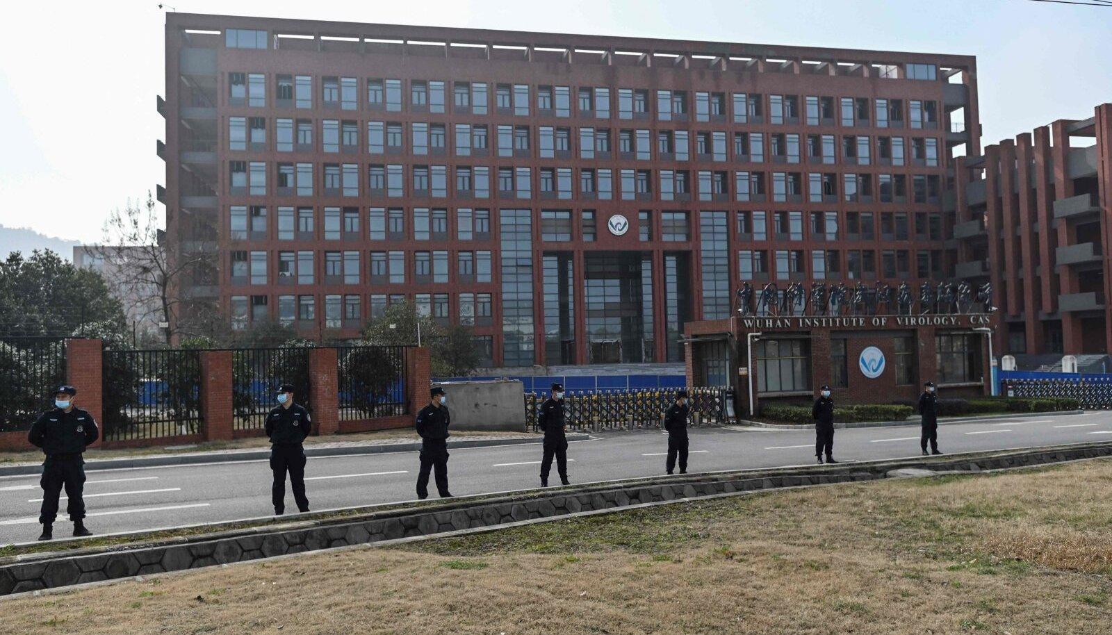 Wuhani viroloogiainstituut WHO uurimisrühma külastuse ajal