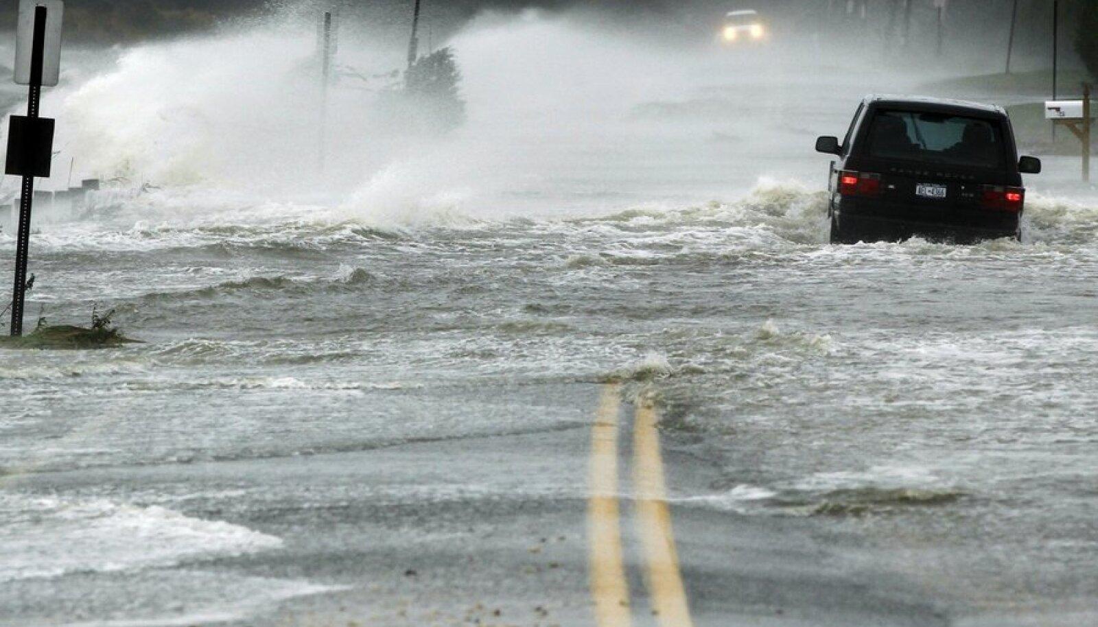 USA idarannikut laastas 2012. aaastal orkaan Sandy.
