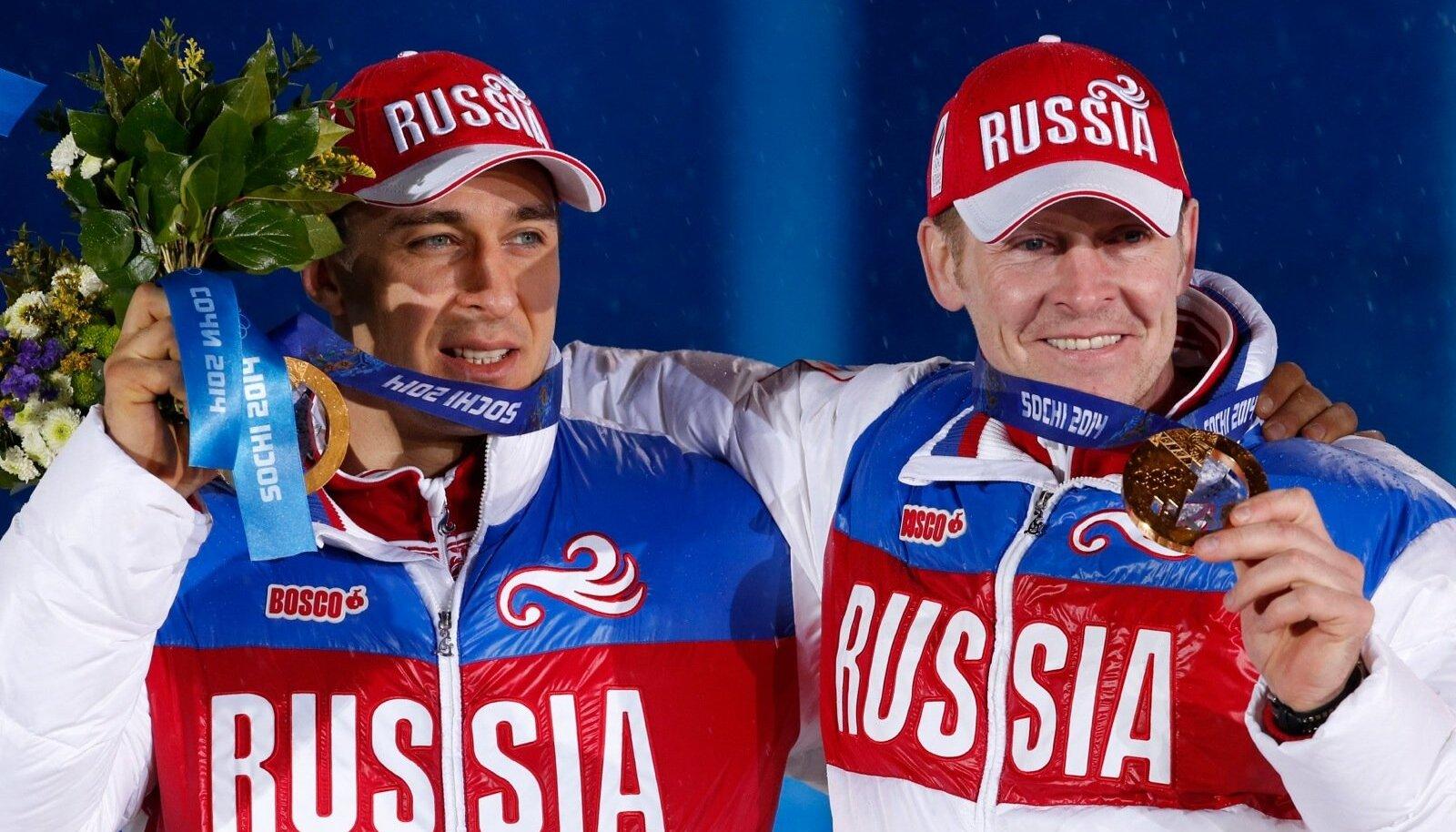 Alexey Voevoda ja Alexander Zubkov