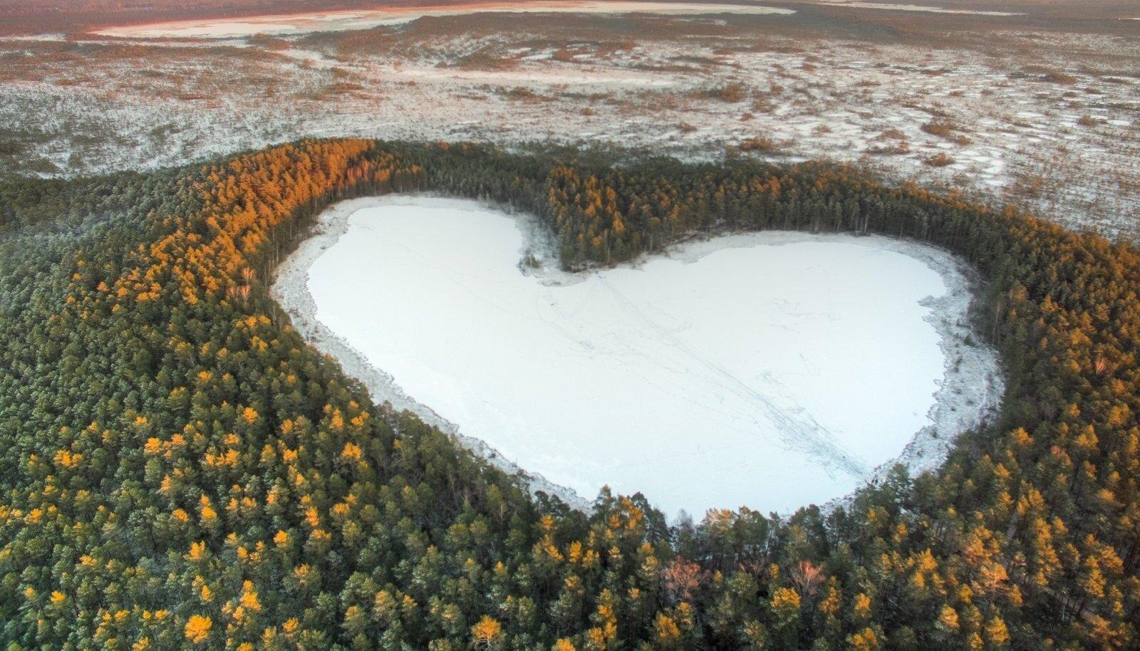 Parika järv. Foto on illustratiivne.