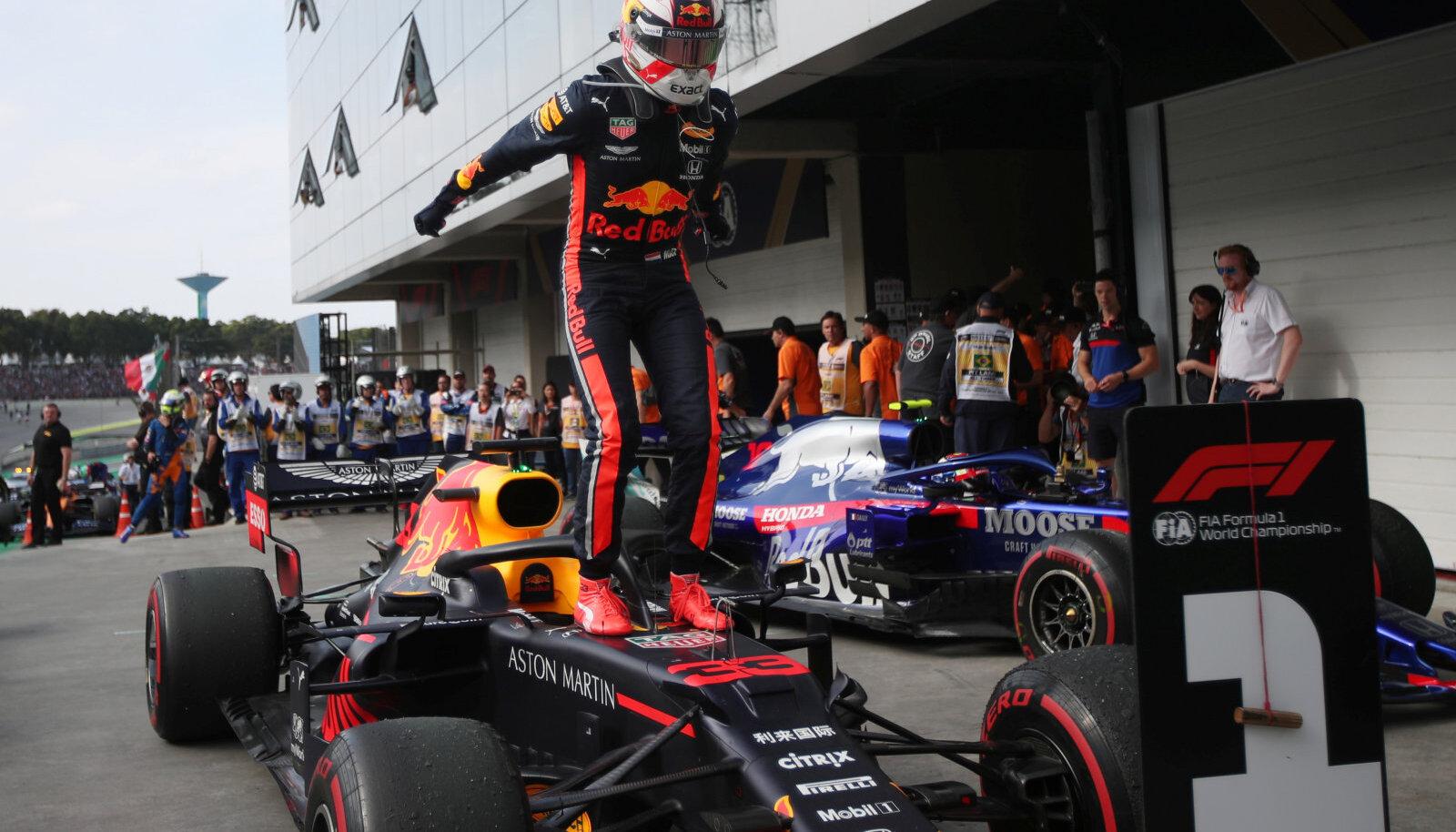 Võidukas Max Verstappen
