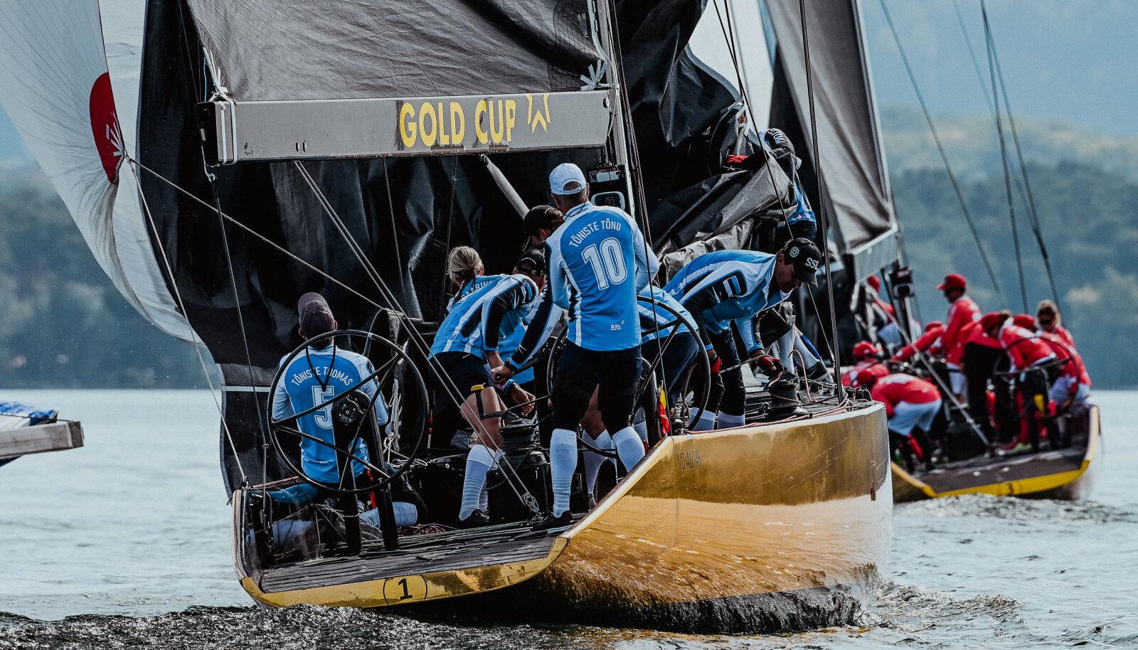 Eesti purjetamise rahvusvõistkond võttis mõõtu maailma tippudega