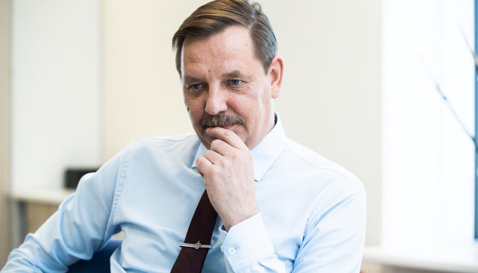 Minister Taavi Aas on Tallinna Televisiooni nõukogu esimees