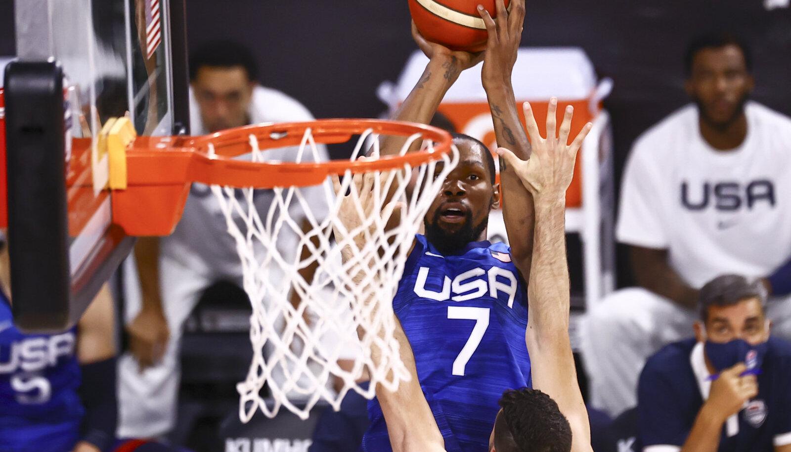 Kevin Durant skoorimas