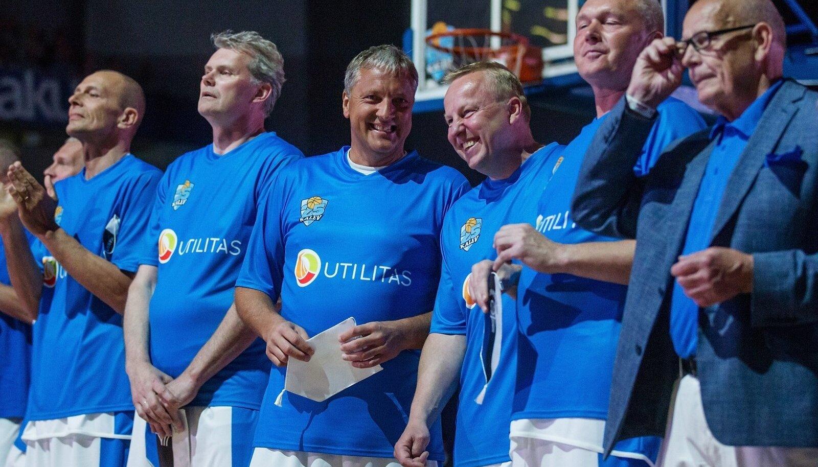 Tallinna Kalev v Kaunase Zalgiris, Kalev 25 mäng Saku Suurhallis.