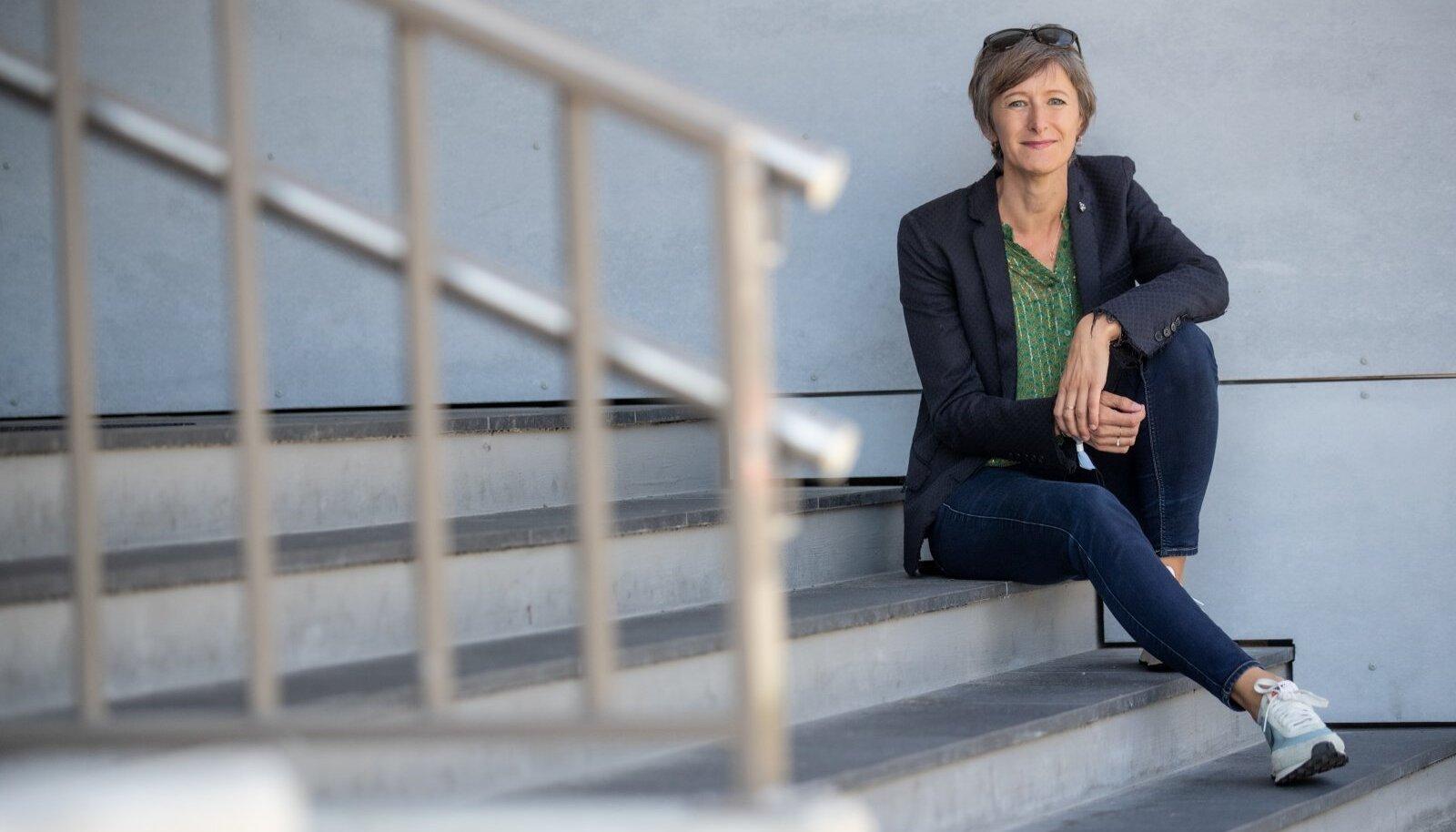 """Kristen Davis juhib Latitude59 arutelu, mille teema on ajakohane: millal ja miks äri lõpetada ja uuesti alustada? """"Ma usun, et see on eriti oluline praeguses olukorras, nii COVID-19 kui ka kliima soojenemise kontekstis,"""" märgib Davis."""