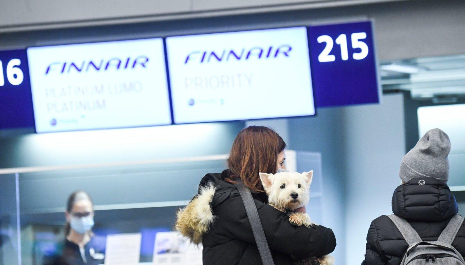 Finnair lendab kaks või kolm korda päevas Eesti ja Soome vahet.