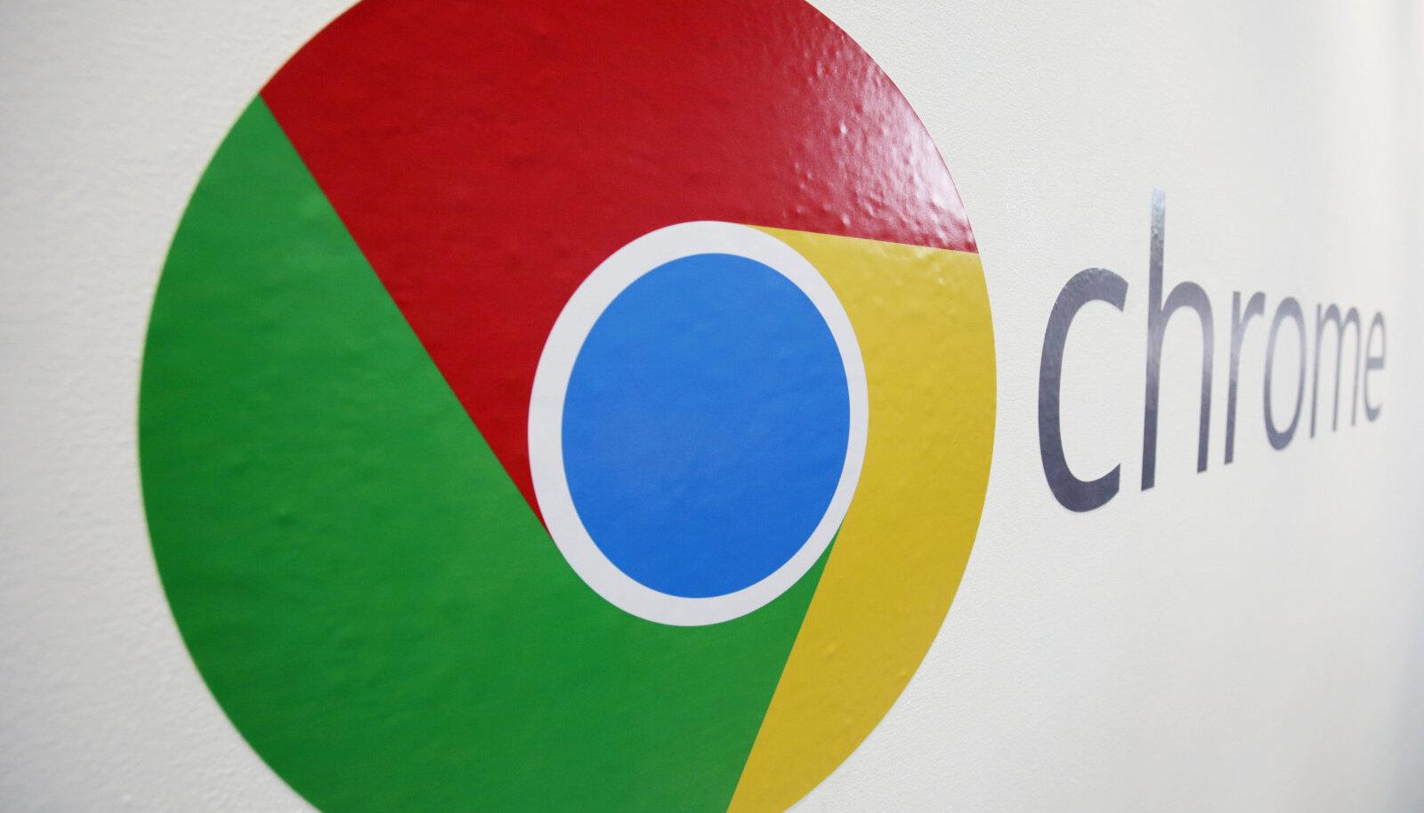 Google Chrome'i logo
