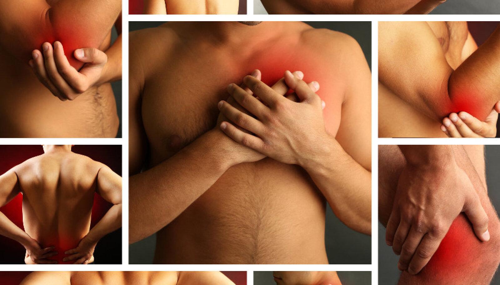 Vigastusjärgne valu