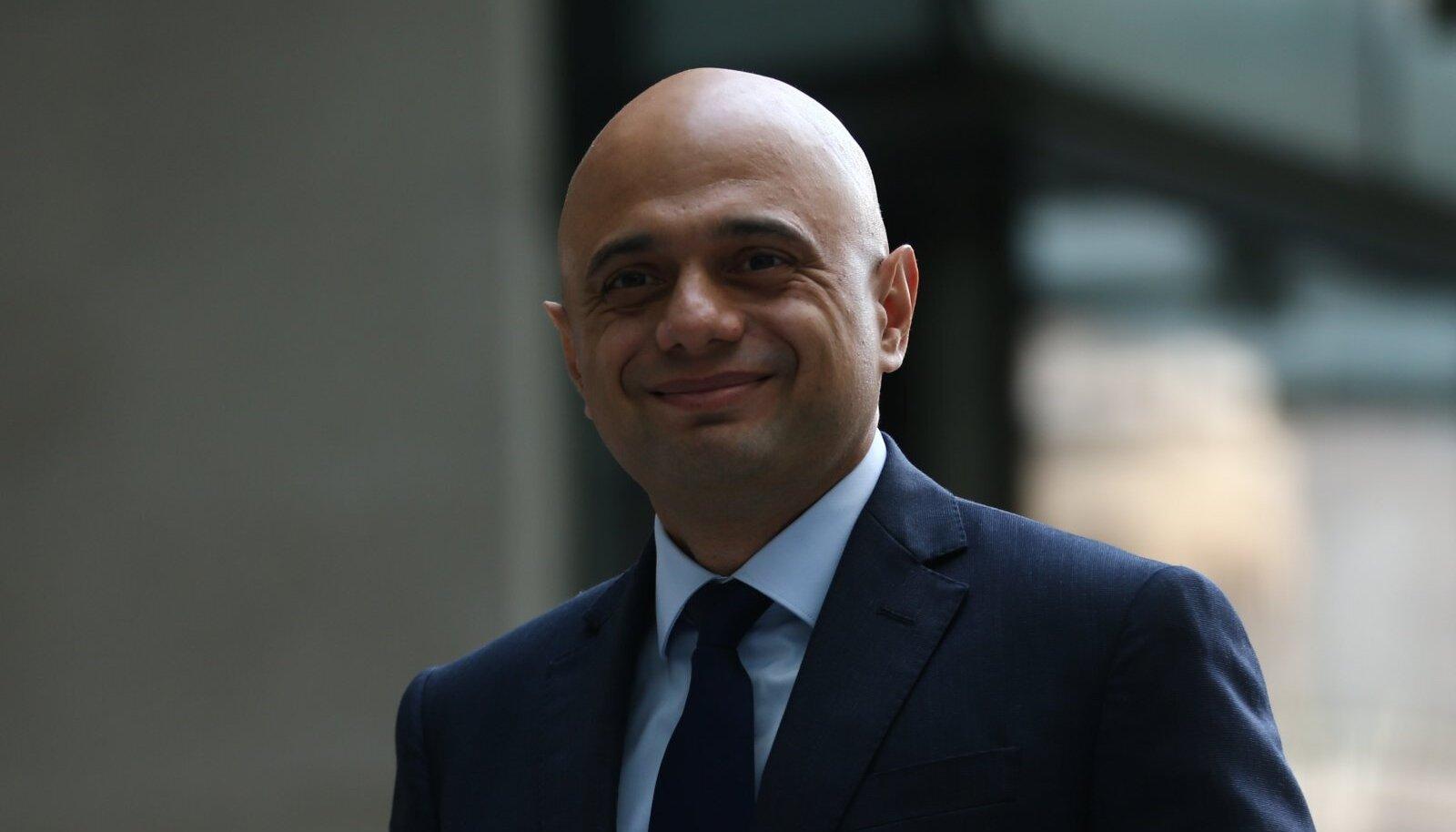 Sajid Javid, Briti terviseminister