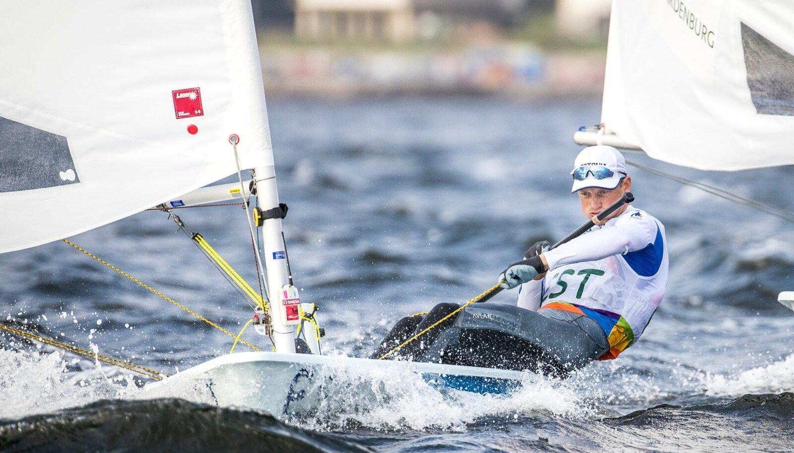 Karl-Martin Rammo kindlustas 2018. aasta augustis esimese Eesti sportlasena Tokyo olümpiapääsme.