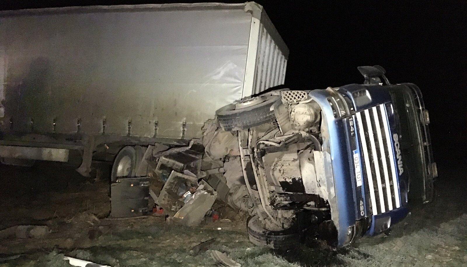 Õnnetus Piibe maanteel