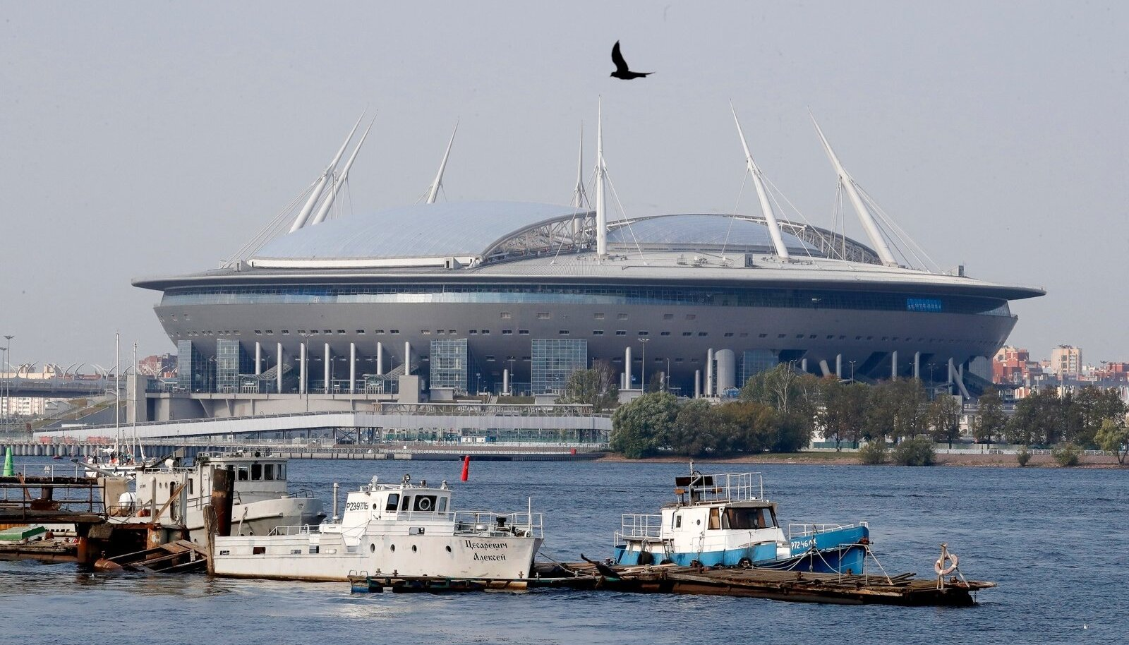 St. Petersburg will host the UEFA Champions League final 2021