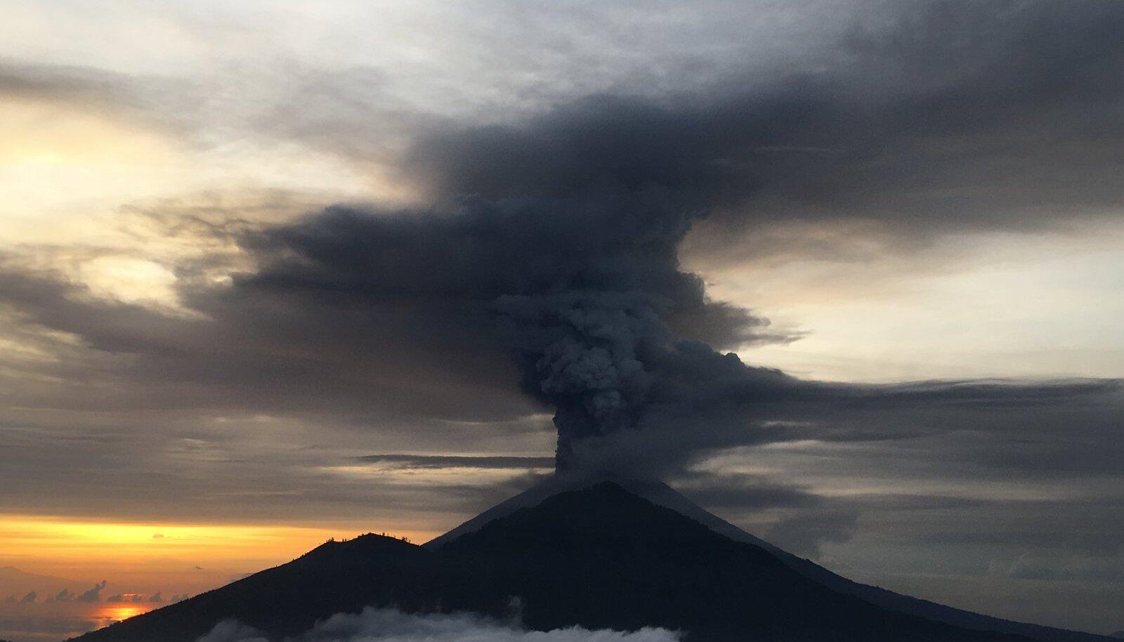 Mount Agungi vulkaan