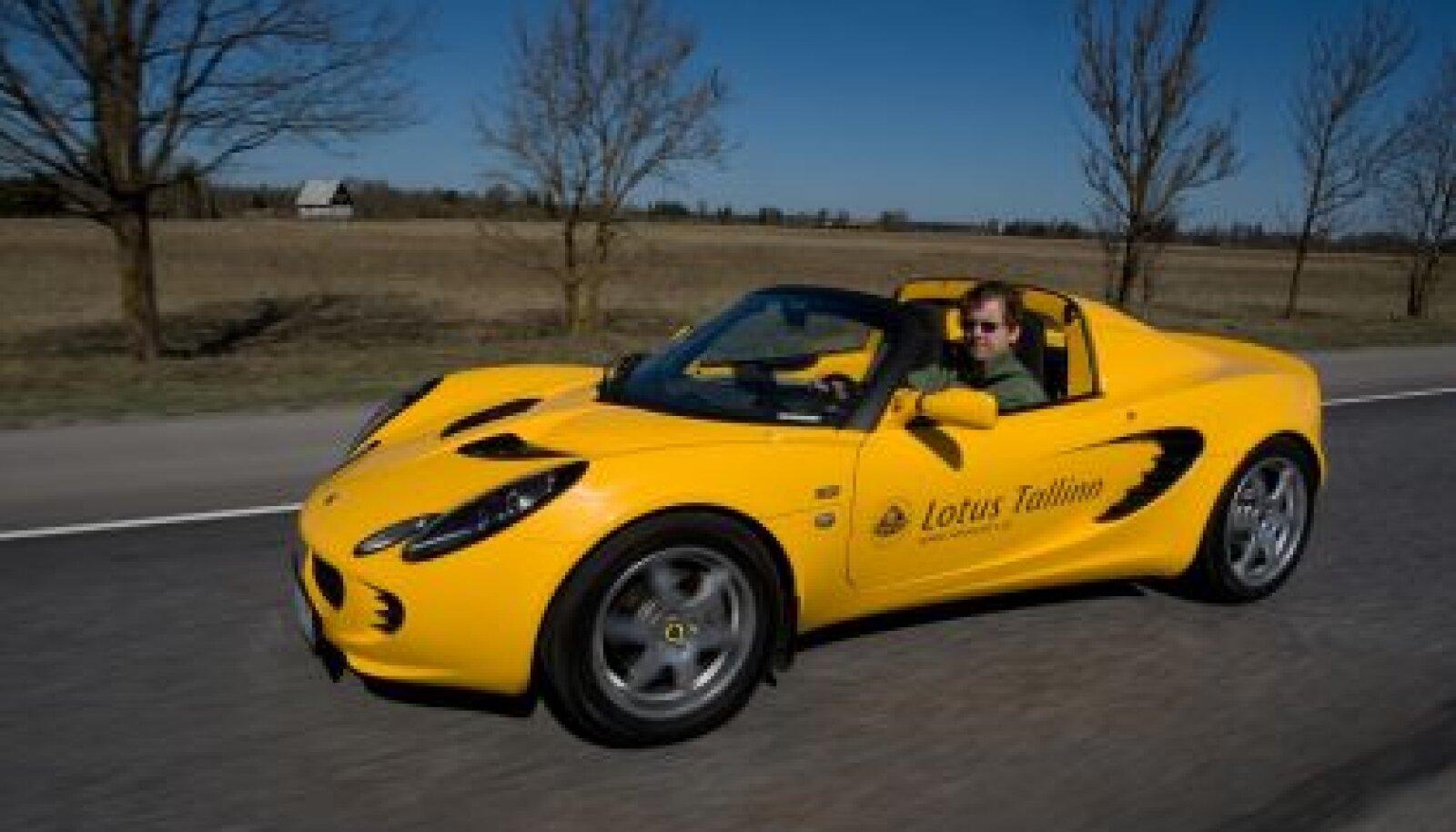 Lotus Elise S pakub puristlikemaid sportautokogemusi, foto Ilmar Saabas
