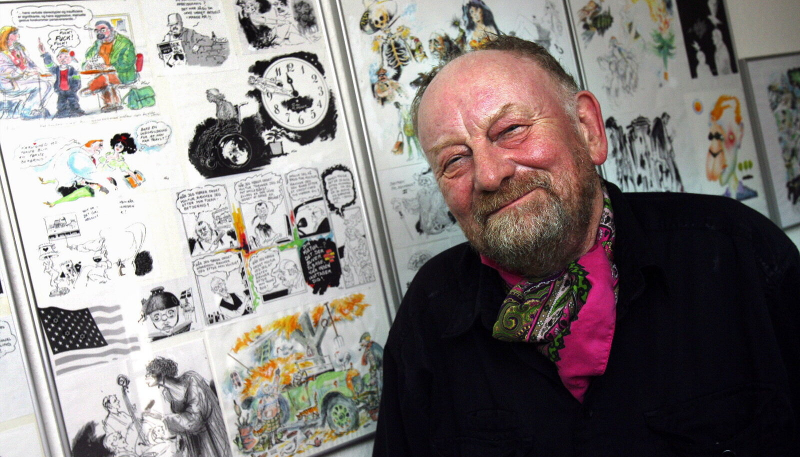 Kurt Westergaard 2010. aastal.