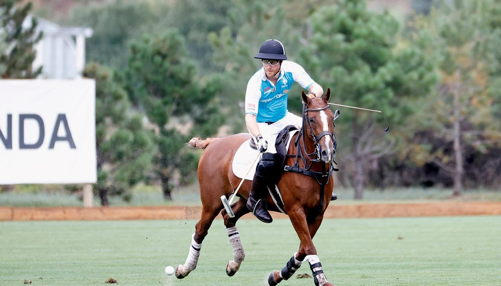 Prince Harry Sentebale Polo Charity Event