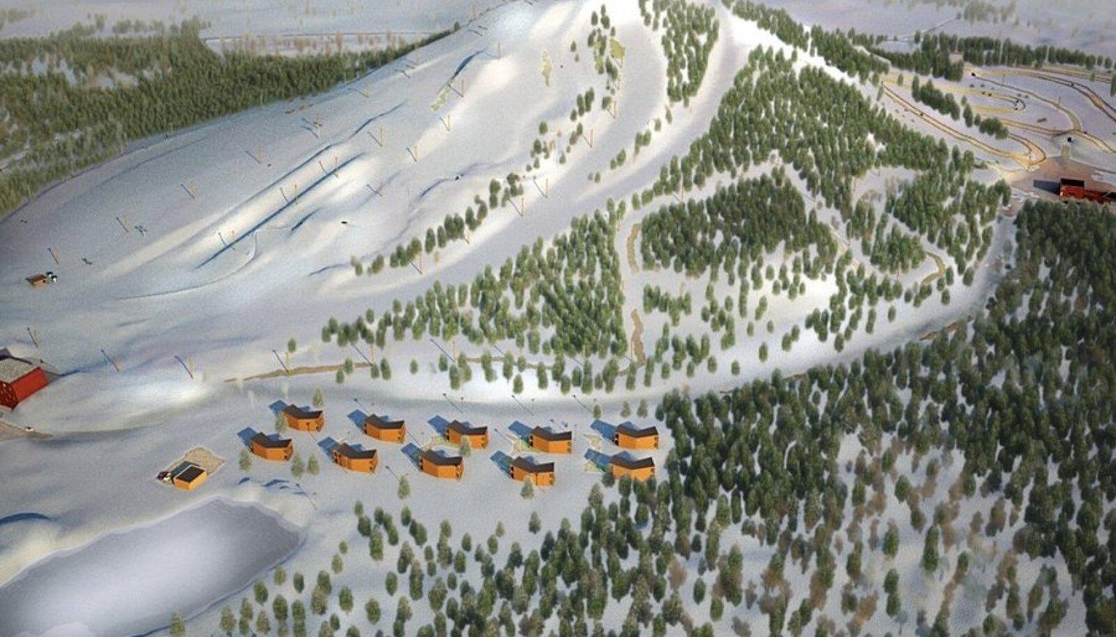Peatselt avatav Kiviõli seiklusturismi keskus. Foto on illustratiivne.