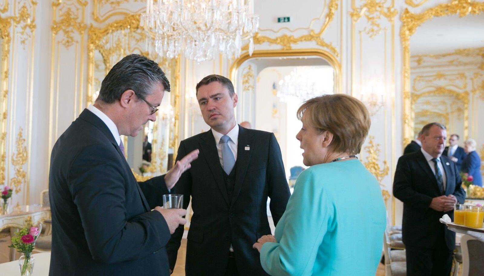 Taavi Rõivas Bratislava kohtumisel