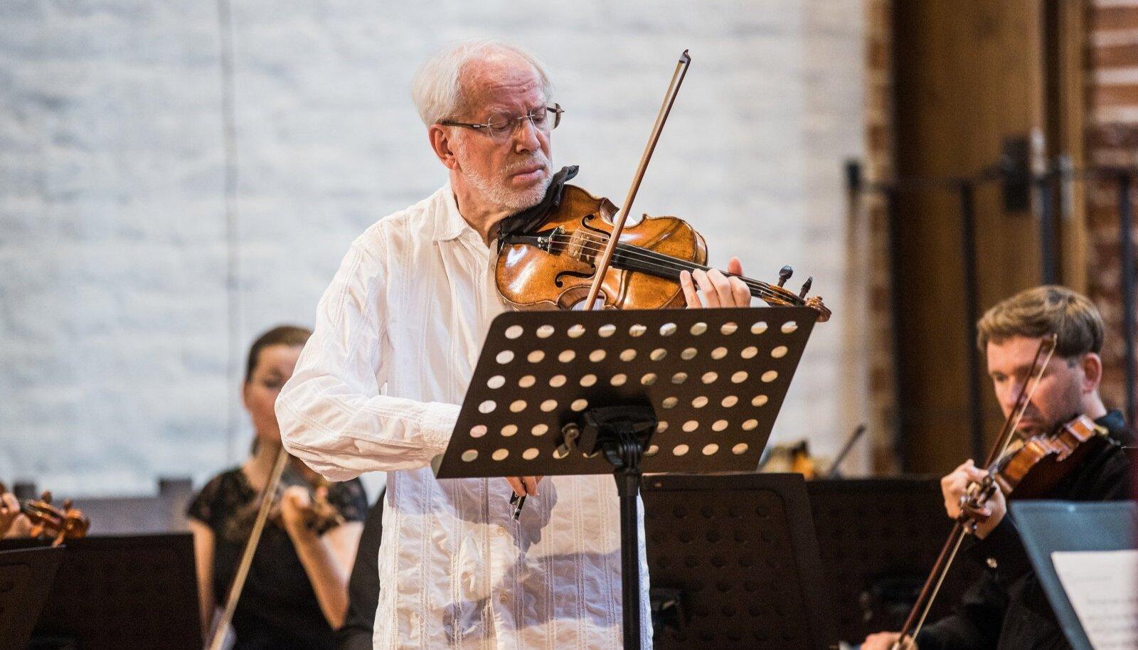 Gidon Kremer festivali Klaaspärlimäng avakontserdil