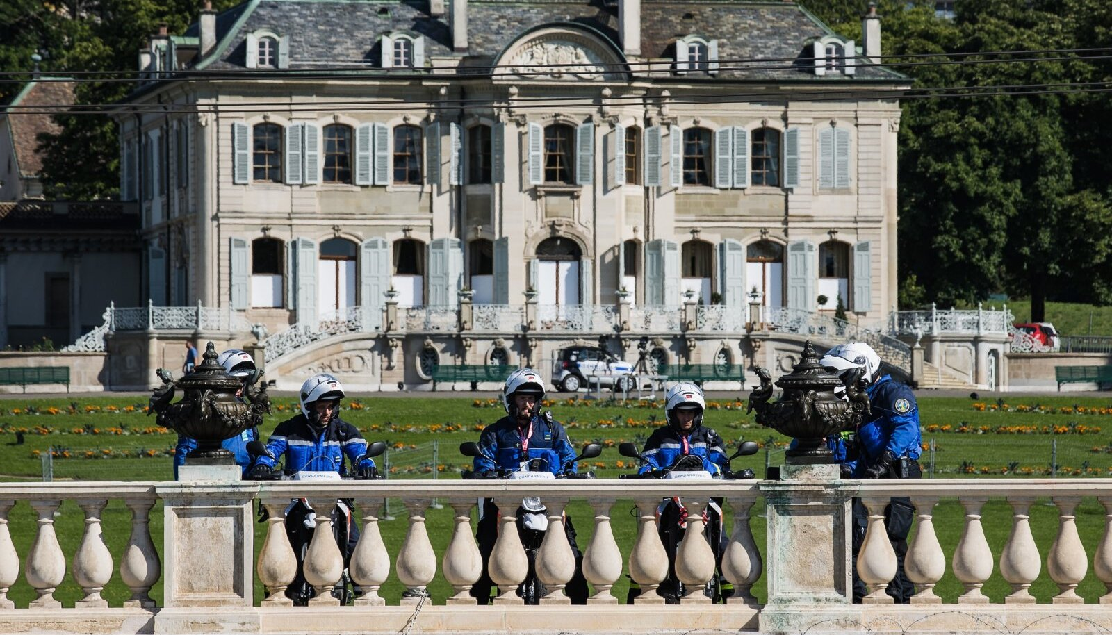 Villa La Grange, Putini ja Bideni kohtumise asukoht Genfis
