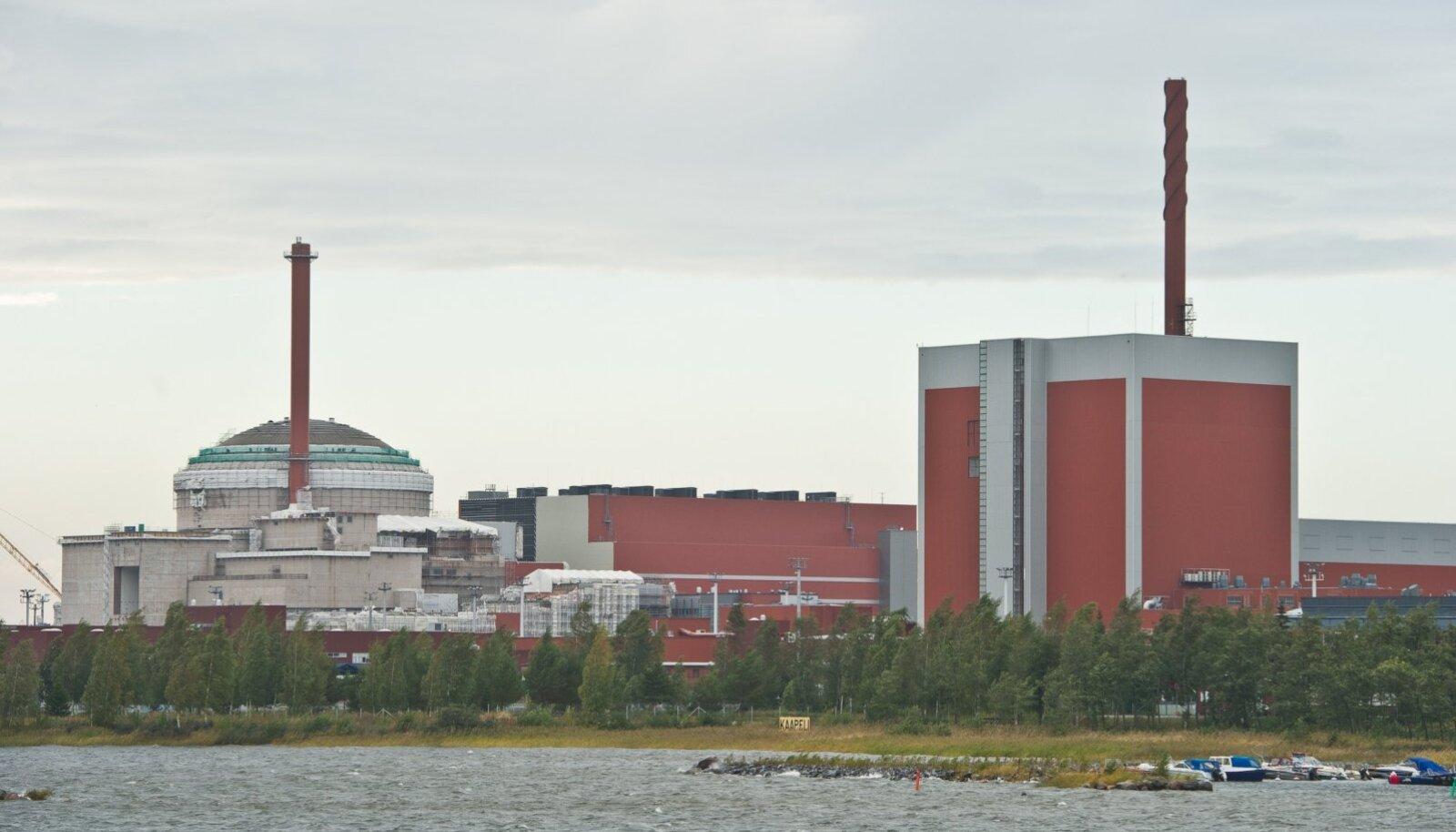 Fotol on Soome tuumajaam Olkiluotos, 565 km Oulust lõuna pool